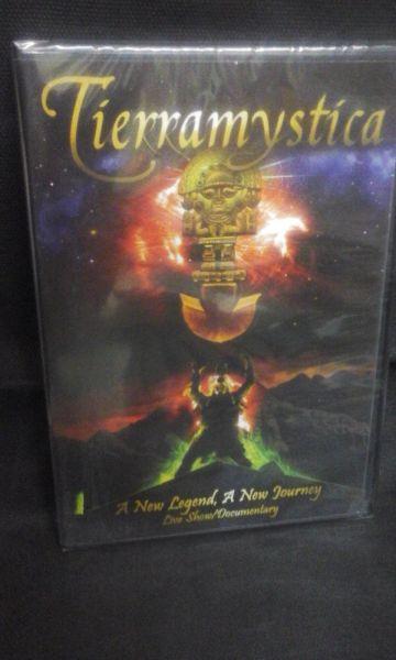 DVD - Tierra Mystica - A New Legend, A New Journey