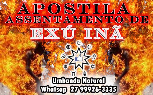 APOSTILA ASSENTAMENTO DE EXÚ INÃ