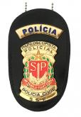Distintivo Papiloscopista Policial - Polícia Civil