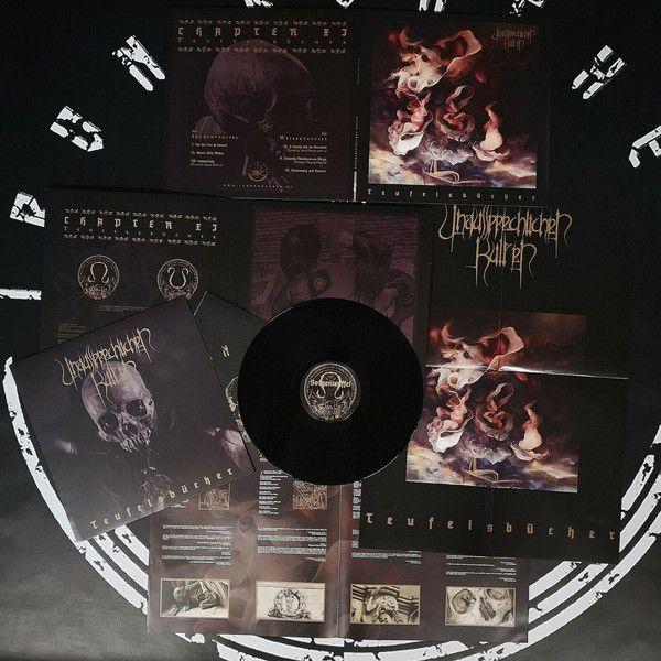 UNAUSSPRECHLICHEN KULTEN - Teufelsbücher - LP (Gatefold+Poster)