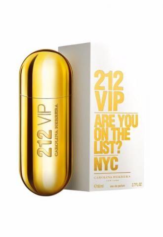 Perfume 212  Vip Feminino Carolina Herrera 80 ml