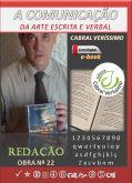 Z-22) A Comunicação da Arte Escrita e Verbal (Redação) 259 págs