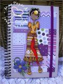 Caderno pautado Doll  Taylor