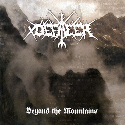 CD - Defacer ‎– Beyond The Mountains