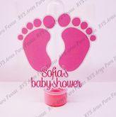 Aplique para tubete de 13 cm - Chá de bebê