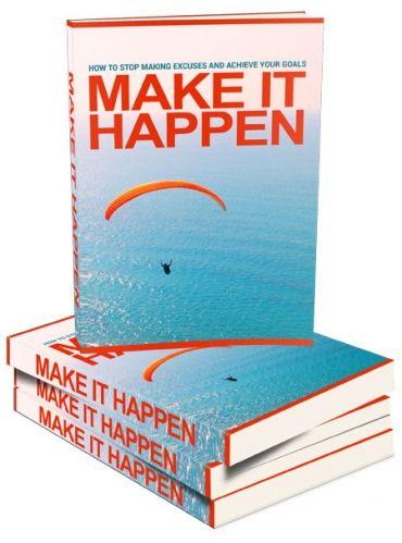 Faça acontecer(E-book em inglês)