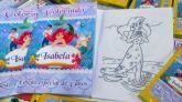 Livrinho de colorir+Giz de Cera