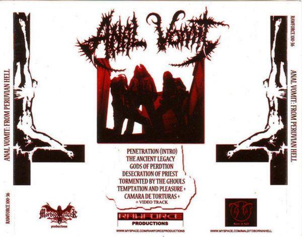 ANAL VOMIT - From Peruvian Hell  - CD