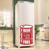 Adesivo Barril Beer in the Best Fuel