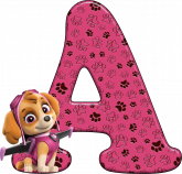 Alfabeto - Patrulha Canina - Skye 1 - PNG