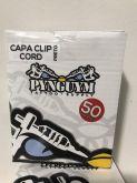 CAPA CLIP CORD PRETA 50UNIDADE