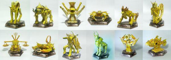 12 Armaduras de Ouro