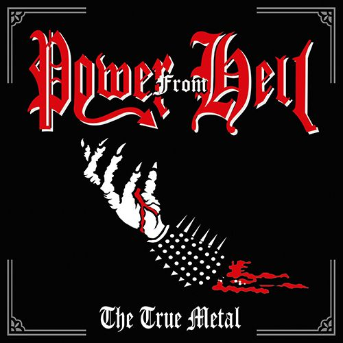 POWER FROM HELL - The true Metal (CD)