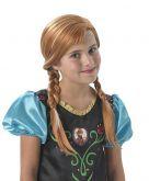 Peruca Frozen - Anna Infantil Ref1256