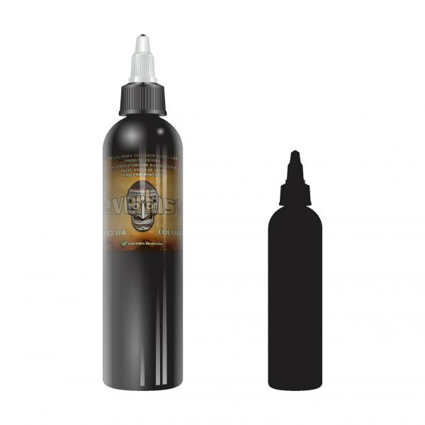 Outliner Black (Preto Linha) Everlast - 240ml