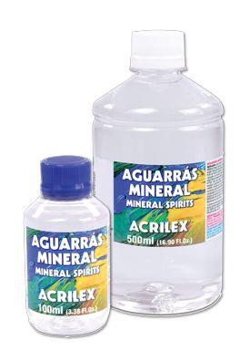 Aguarrás Mineral  500ml Acrilex