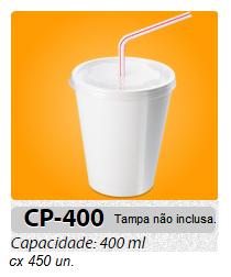 COPO DE ISOPOR MEIWA 400 ML