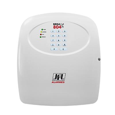Central De Alarme convencional  Brisa Cell-804  JFL