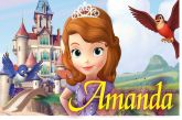 Almofada Princesa Sofia