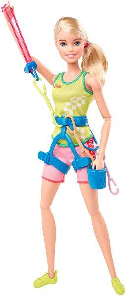 Boneca Barbie Tokyo 2020 - Escalada esportiva