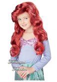 Peruca Ariel Infantil FF3820