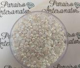 526312cfa0 Meia Pérola Boreal (Furta Cor) 3mm - Paraiso Artesanatos   Pedrarias