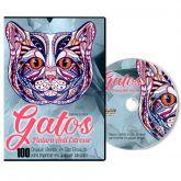 100 Gatos para Imprimir e Colorir