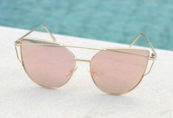 Óculos de sol feminino Dior Love Punch Inspired - Daf Store 5e2efffad3