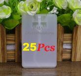 Kit Com 25 Pçs De Cartão Spray De 20ml Porta Perfume