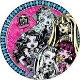 Papel Arroz Monster High Redondo 008 1un