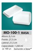 MO-100-1 BANDEJA 1200 ML C/ 100 UN.