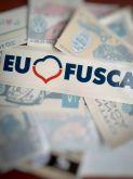 2 - Kit 2 Eu amo Fusca + 9 adesivos de Encontros de Fusca somente