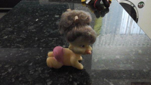 Boneca Bebe Engatinha - Anos 60