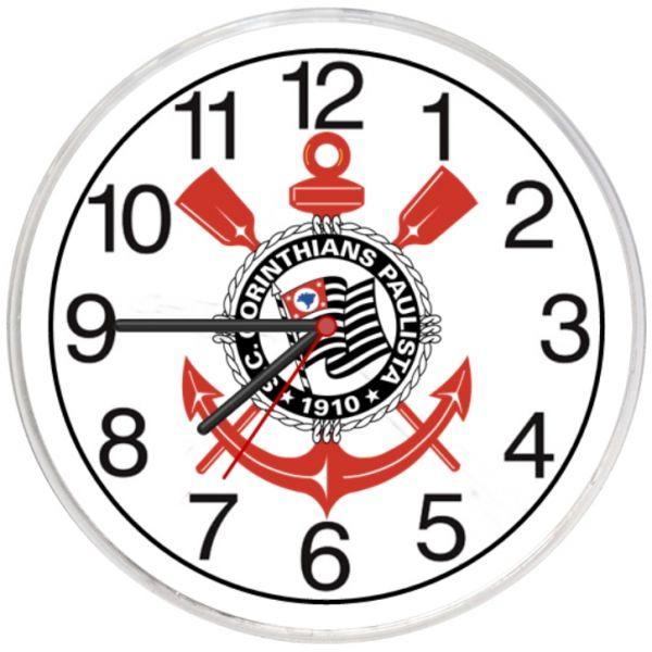 Relógio Parede Corinthians Paulista Barato Promoção