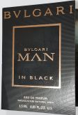 Amostra Perfume Importado Bvlgari Man In Black EDP 1,5ml