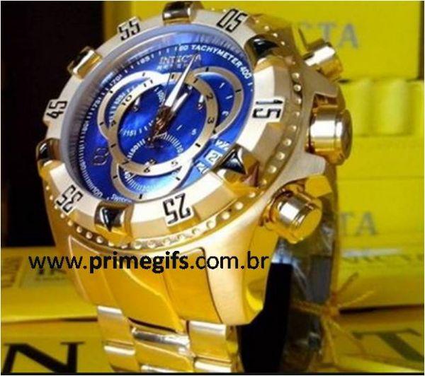104447bbfb5 Relógio invicta excursion reserve 6469 Dourado - Prime Gifs