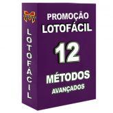 LOTOFÁCIL,12 métodos profissionais.