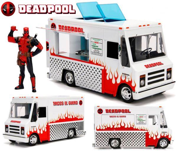 DeadPool - JADA -  METAL - FOODTRUCK COM DEADPOOL 1:24