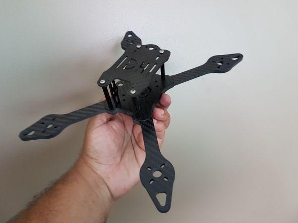 Frame DH E5M (Modular) 220mm - Braços 4.5mm - Drone Racer