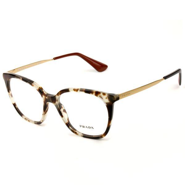 Óculos Prada VPR 11T UAO-1O1 53 - Grau - PRESENTES.COM 18ee4a2e76