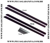 Kit de Alargadores do Paralamas de Borracha 5cm para Niva c/ 4 Peças (Novo) Ref. 0438
