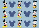 Papel Arroz Mickey Faixa Lateral A4 009 1un