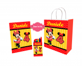 Kit Sacola Minnie