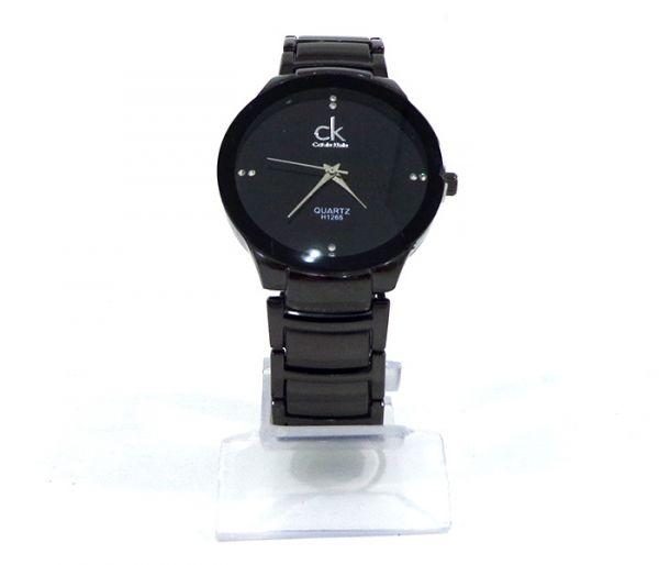 15ae40147f6 Relógio Feminino Calvin Klein Preto fundo preto cod  21283 - 1001 ...