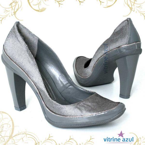 681973327f Sapato Feminino Schutz cinza 37 - Vitrineazul