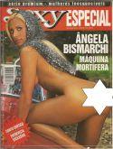 SEXY MAGAZINE BRAZIL # 01 - ANGELA BISMARCHI - USED - JUN 2003 HOT
