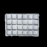 Berço Transparente com 24 cavidades 1un