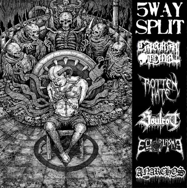 CD 5 Ways Split - Carnal Tomb - Rotten Hate - Soulrot - Ectoplasma