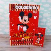 Kit para colorir Mickey