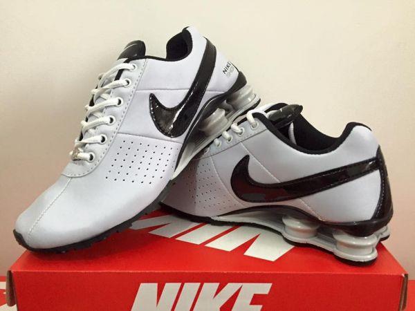 98d981324ac Tênis Nike Shox Classic Branco - Outlet Ser Chic